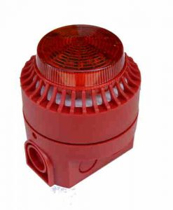 SOUNDER AND BEACON LIGHT FIRE ALARM