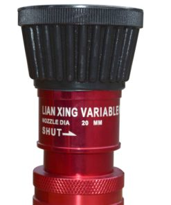 Fire Hydrant Variable Nozzle Aluminium 1.5 Inch