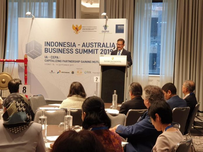 Indonesia, Australia explore new business opportunities in comprehensive partnerships