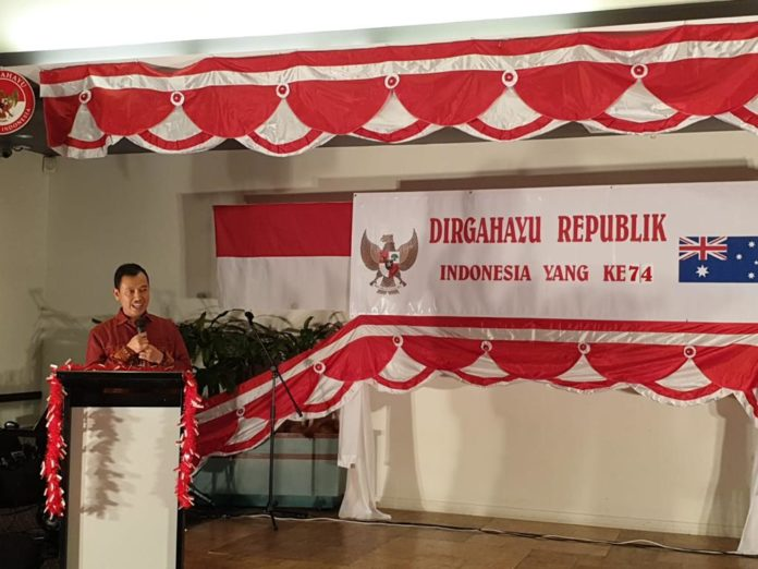 Indonesian Australian Community holds dinner celebrating Indonesia's Independence Day
