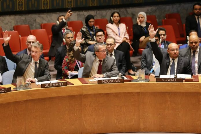 Indonesia passes UNSC Resolution on Afghanistan