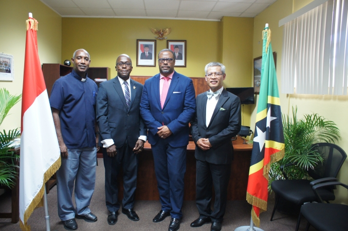 Indonesia opens first honorary consul office in the Federation of St. Kitts, Nevis