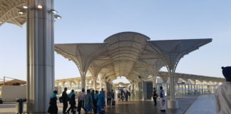 High-tech bus station to serve pilgrims to holy sites