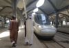 Saudi Haramain train runs 300 km/hour