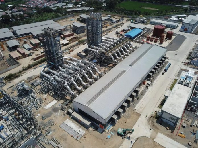 Indonesia's first steam gas engine generator has capacity of 136 MW