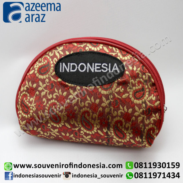 Souvenir Dompet Songket Indonesia Exclusive (Exclusive Songket Wallet)