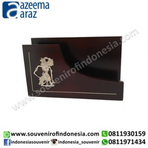 Souvenir Kayu Tempat Amplop Kecil Exclusive (Exclusive Wooden Souvenir Small Envelope Holder)