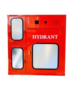 Fire Box Hydrant Type B Vertical With Glass
