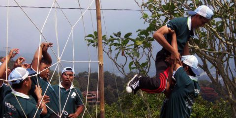 paket wisata halimun camping ground puncak highland outbound games