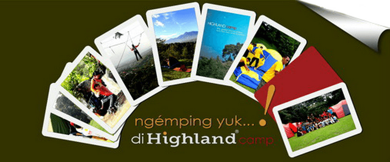 Highland camp for your OutBound, Outing, Gathering and Adventure