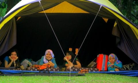 microsoft camping outbound di highland camp